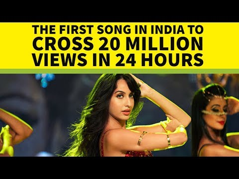 Top 20 Most Viewed Indian/Bollywood Songs in First 24 Hours