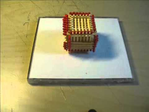Как сделать спичечный замок фото 971