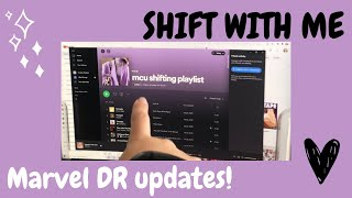 MARVEL SHIFTING UPDATE! (and shift with me)