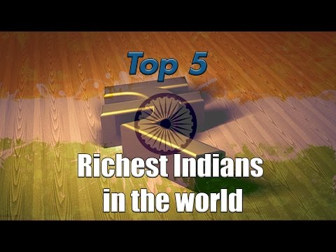 Top 5 - Richest Indians in the World | Simbly Chumma - 52