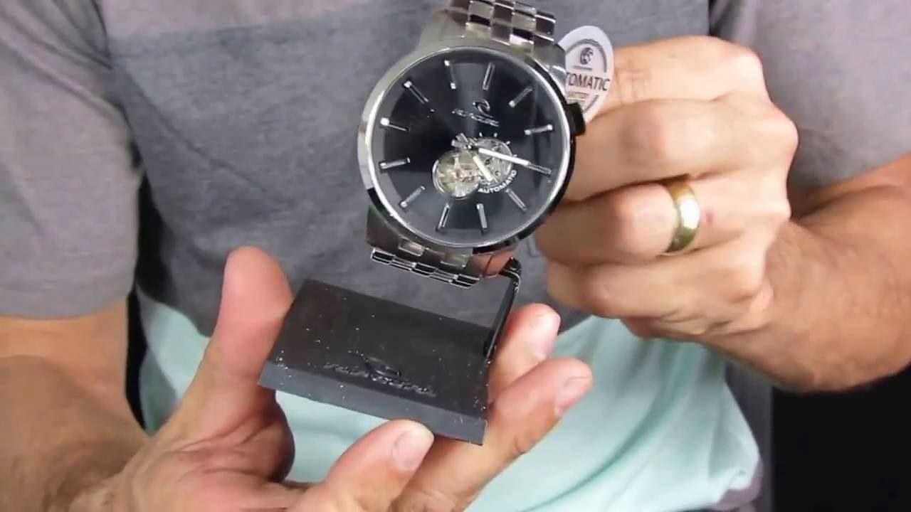6e4a66813f Vendas de relógio Rip Curl Detroit - YouTube
