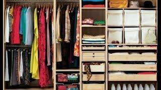 Организация и хранение вещей. Уборка / Одежда /  Home Organizing(, 2014-05-01T22:52:11.000Z)