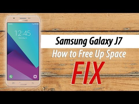 Samsung Galaxy J7 How To Free Up Space On Your Phone | Not Enough Storage FIX