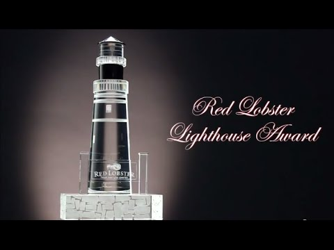 FineAwards.com creates premier custom lighthouse award for Red Lobster - YouTube