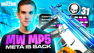 THE MW MP5 META IS BACK!! 31 KILL *UNSTOPPABLE* SETUP! (WARZONE)