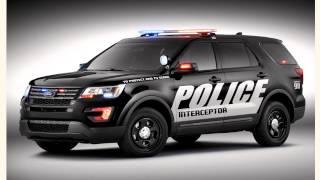 Представлен обновленный полицейский Ford Explorer