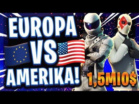 🏆😳🇪🇺EUROPA vs 🇺🇸AMERIKA!   Turnier der besten Duos!   1.500.000$ Qualifikation für das Finale!