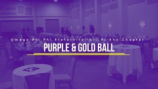 Purple & Gold Ball 2019