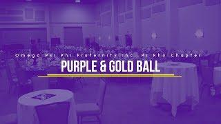 Pi Rho Purple & Gold Ball 2019