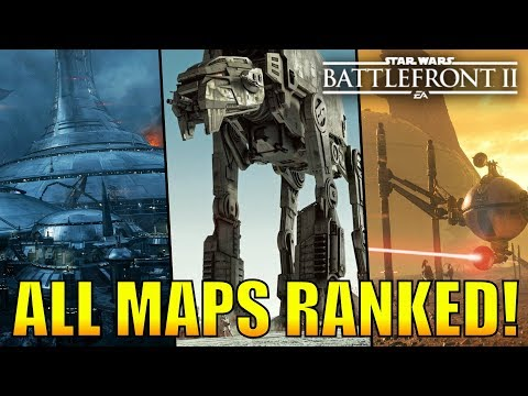 Every Galactic Assault Map Ranked from Worst to Best! - Star Wars Battlefront 2 thumbnail