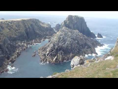 Video footage of Star Wars set in Malin Head, Ireland 2016