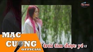 | Karaoke HD | Nguyện Mãi Yêu Anh - Saka Trương Tuyền ft Lưu Chí Vỹ