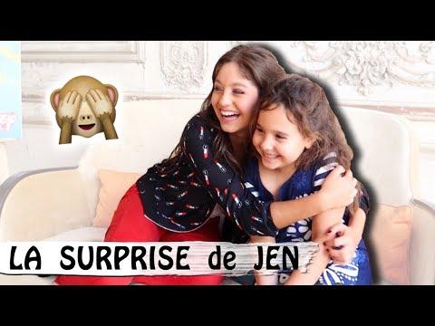 LA SURPRISE DE JEN : va-t-elle pleurer ? / Family Vlog