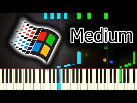 WINDOWS 95 STARTUP SOUND - Piano Tutorial