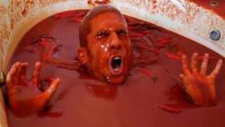 Bathing in 1250 Bottles of Hot Sauce