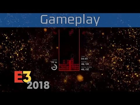Tetris Effect - E3 2018 PlayStation VR Gameplay [HD]