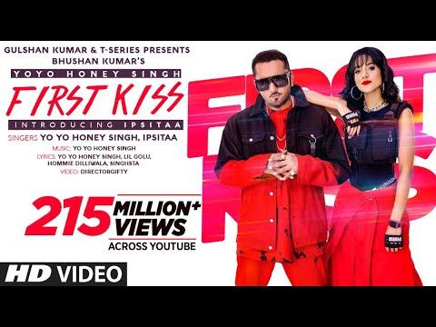 First Kiss: Yo Yo Honey Singh Ft. Ipsitaa | Bhushan Kumar | Lil Golu, Singhsta, Hommie D, DirGifty