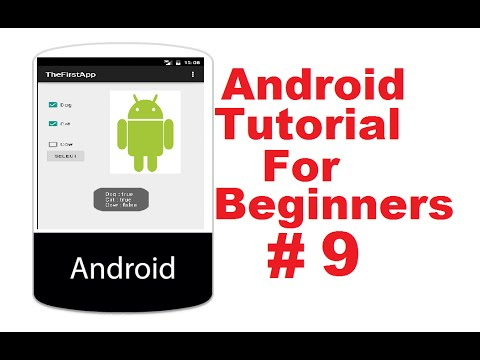 Android Tutorial for Beginners 9 # Android Checkbox Basics and Example