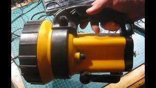 видео Фонарь аккумуляторный бытовой ФОС3-У