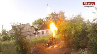 (ENG Sub) Марьинка  Подавление огневых точек ВСУ  18+