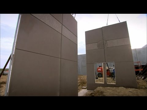 Pre-Cast Concrete Walls | How It's Made