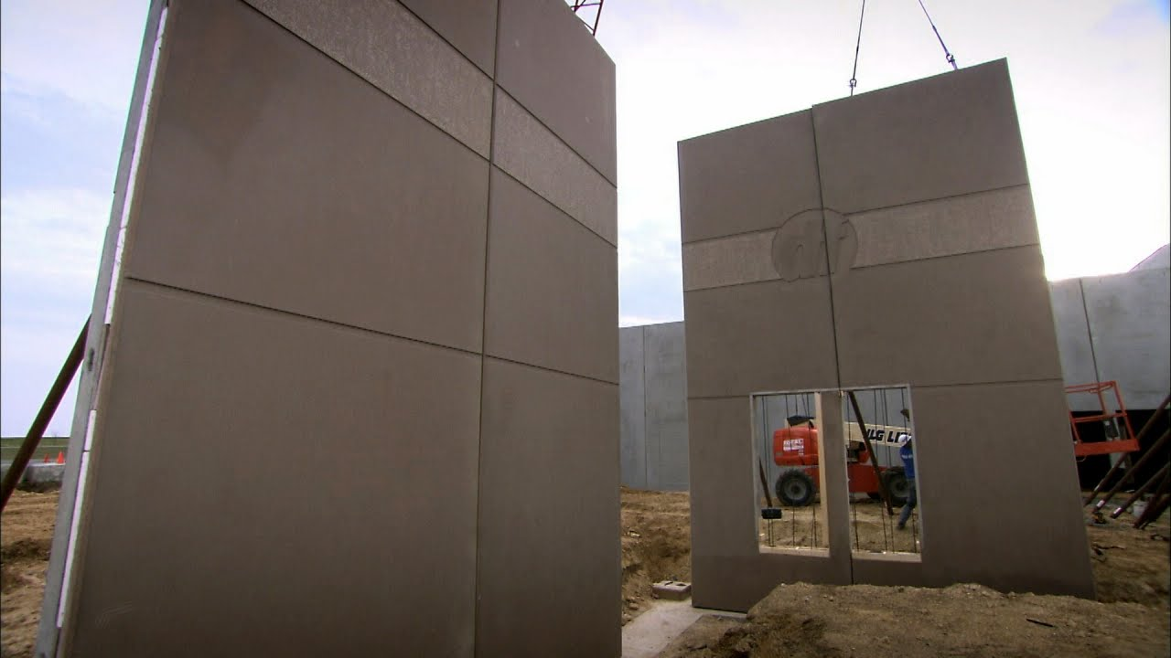 Pre Cast Concrete Walls How It S Made Youtube