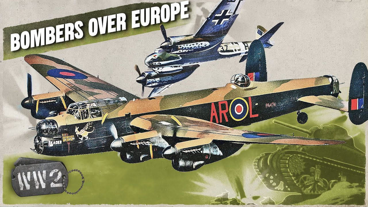 The RAF and Luftwaffe Bombers of Western Europe - WW2 Special