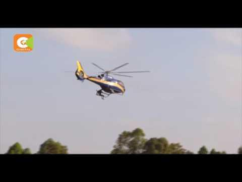 Meru man clings on Odinga chopper