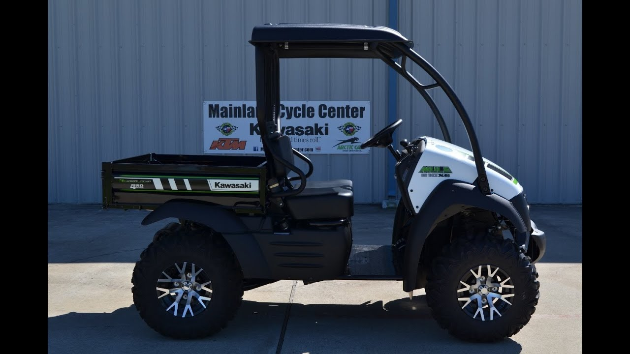 $8,599: 2015 Kawasaki Mule 610 XC Special Edition Overview and Review!
