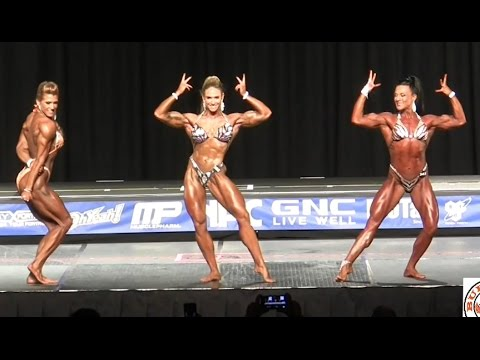 2016 NPC Nationals Women's Physique Overaall