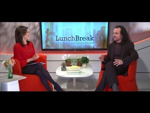 Yanni visits Lunch Break with Tanya Rivero