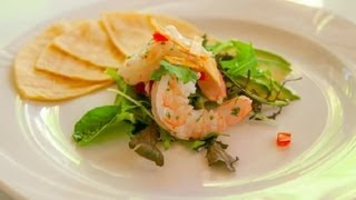 How To Make A Tequila Lime Shrimp Salad : Seafood Salad