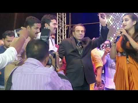 Indore News : महादंगल में पहुँचे धर्मेन्द्र।indore mahadangal