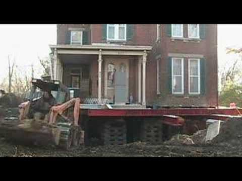House raising in Iowa City