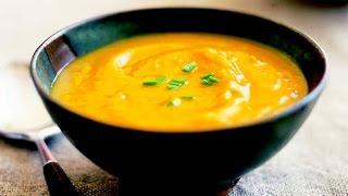 Готовим Pumpkin soup. (Тыквенный суп)