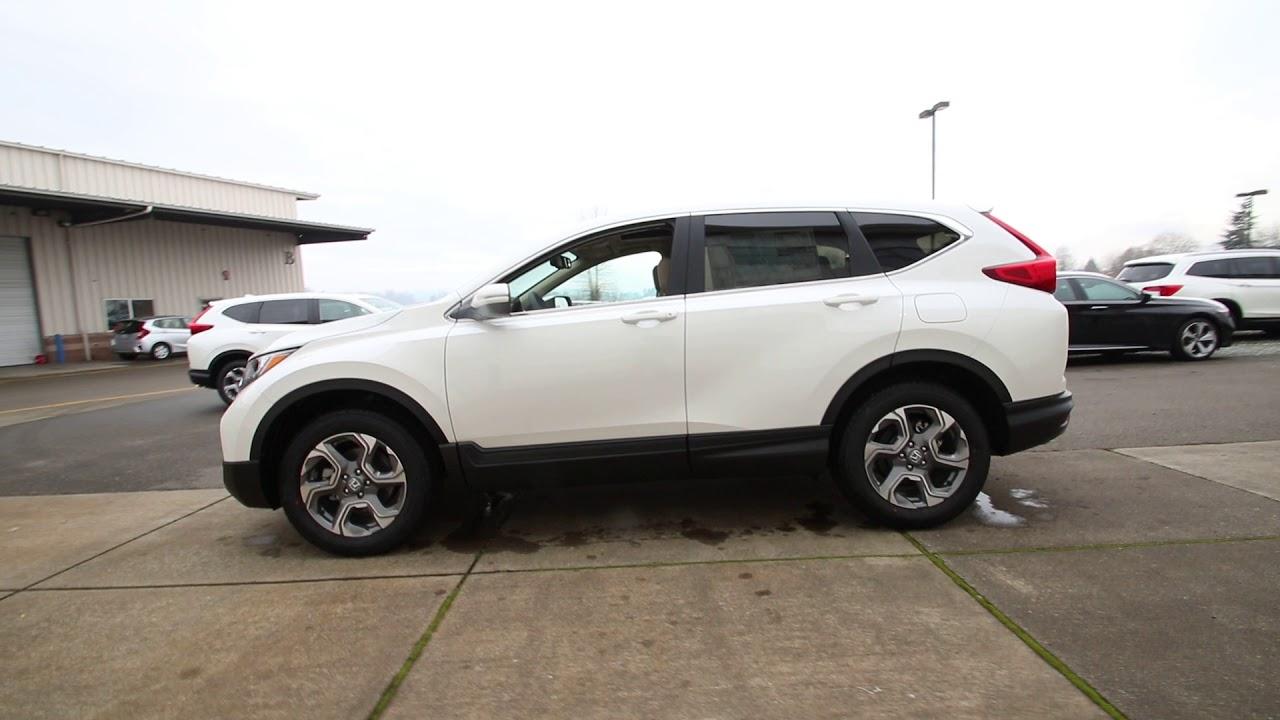 Download 2018 Honda CR-V EX-L   White Diamond Pearl   JH616242   Seattle   Sumner  