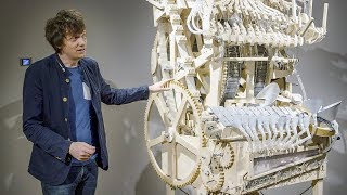 Building the Marble Machine at the Speelklok Museum