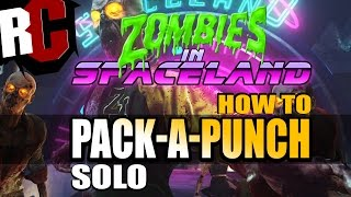 Call of Duty Infinite Warfare Zombies - Pack-a-Punch room In Spaceland (How to unlock Pack a Punch)
