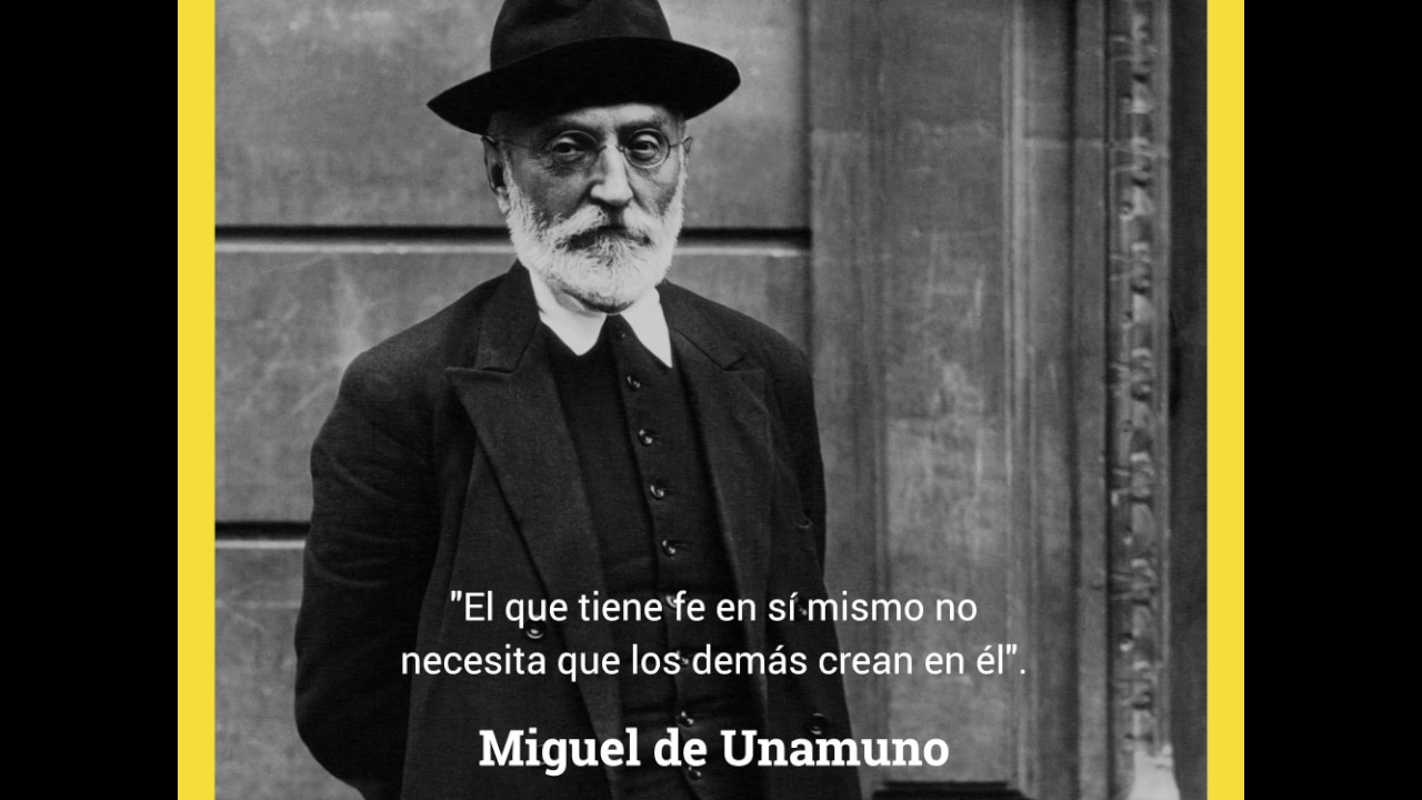 Quote Actívate: Miguel De Unamuno