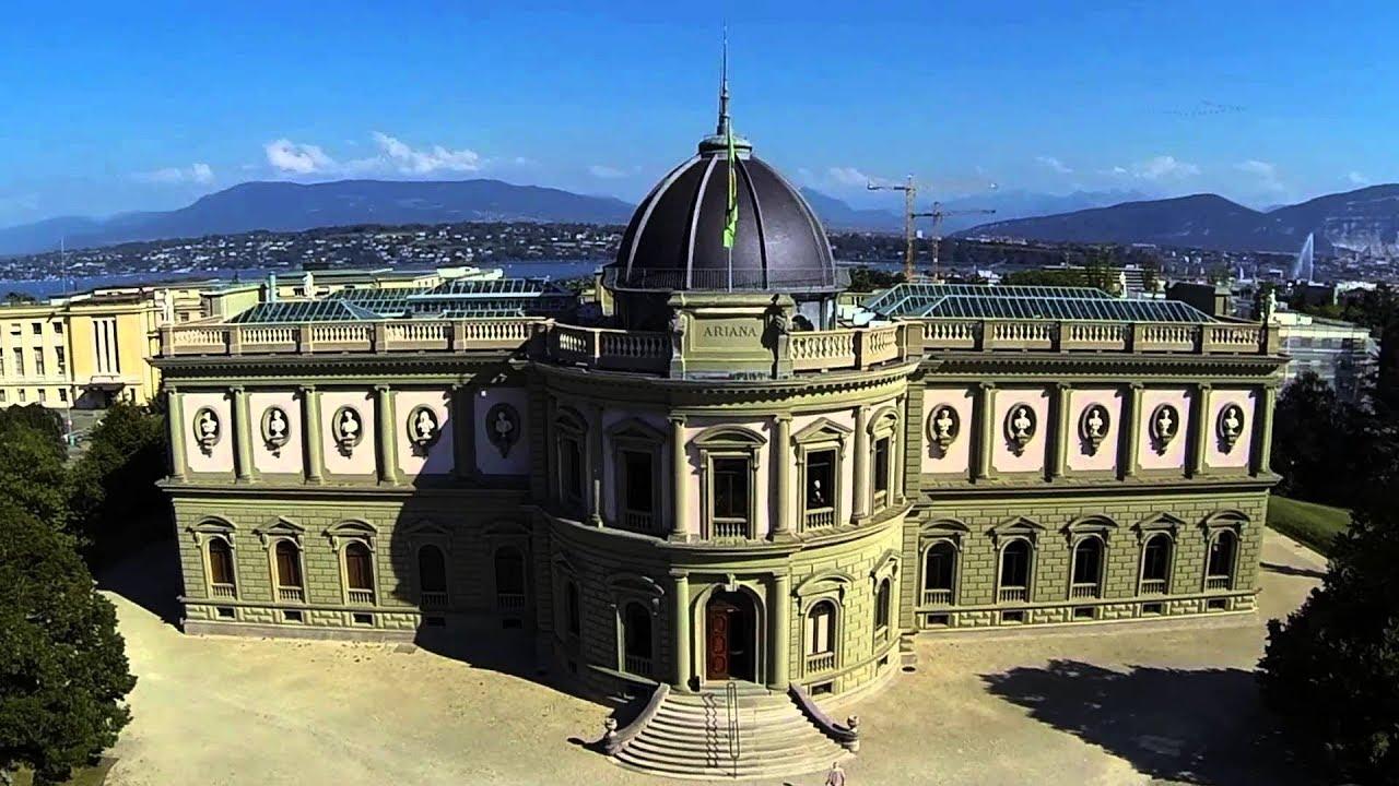 متحف أريانا من اشهر الأماكن السياحية في سويسرا