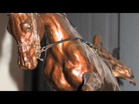 Sculpting the Wind:Alexa King and the Making of the Barbaro Memorial Statue