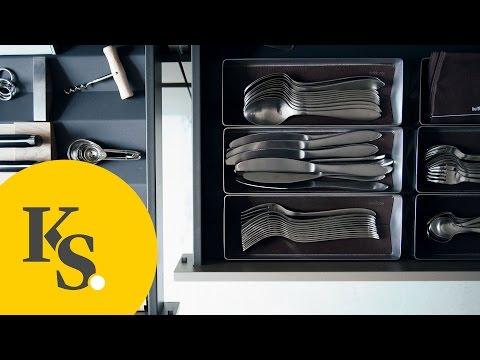 Küchenorganisation leicht gemacht: Besteck, Messer & Kleinteile   Tipps & Tricks