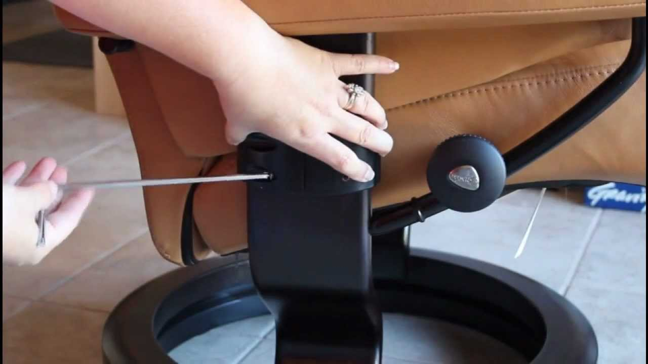 chair arm table attachment all purpose styling easy stressless laptop installation youtube