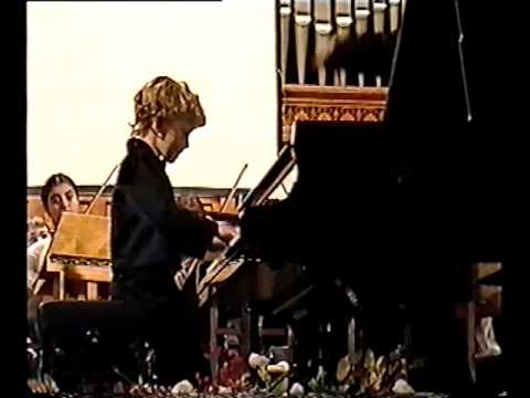 Nikolay Khozyainov Handel Piano Concerto F-major Moscow, February 2000