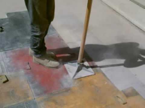 pavimentazione in cemento stampato  YouTube