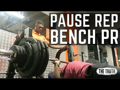 Bench Press Personal Best | YouTube Convention | Gabriel Sey