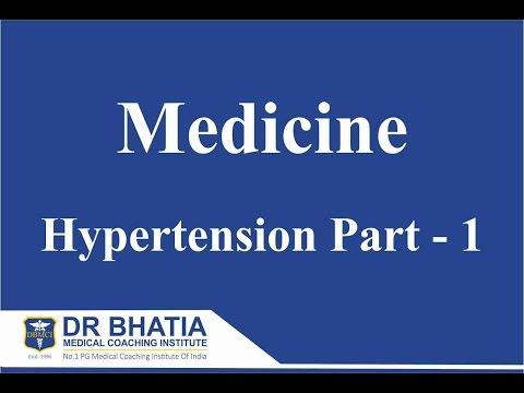 Medicine - Hypertension Part 1