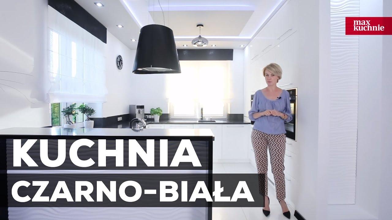 Kuchnia Czarno Biala Studio Max Kuchnie Witonski Meble Stalowa