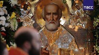 Православные россияне готовятся поклониться мощам святителя Николая Чудотворца