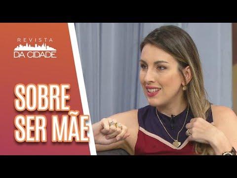 Bate-papo De Mãe Com Michelle Giannella - Revista Da Cidade (11/05/18)
